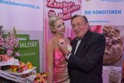 114. Zuckerbäckerball - Hofburg - Do 15.01.2015 - Richard und Cathy LUGNER6