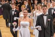 114. Zuckerbäckerball - Hofburg - Do 15.01.2015 - Balleröffnung, Debüdanten, Einzug, tanzen, Tanzpaare52