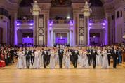 114. Zuckerbäckerball - Hofburg - Do 15.01.2015 - Balleröffnung, Debüdanten, Einzug, tanzen, Tanzpaare76