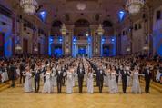 114. Zuckerbäckerball - Hofburg - Do 15.01.2015 - Balleröffnung, Debüdanten, Einzug, tanzen, Tanzpaare77