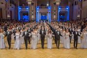 114. Zuckerbäckerball - Hofburg - Do 15.01.2015 - Balleröffnung, Debüdanten, Einzug, tanzen, Tanzpaare78