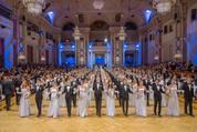 114. Zuckerbäckerball - Hofburg - Do 15.01.2015 - Balleröffnung, Debüdanten, Einzug, tanzen, Tanzpaare79