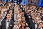 114. Zuckerbäckerball - Hofburg - Do 15.01.2015 - Balleröffnung, Debüdanten, Einzug, tanzen, Tanzpaare82