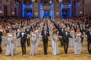 114. Zuckerbäckerball - Hofburg - Do 15.01.2015 - Balleröffnung, Debüdanten, Einzug, tanzen, Tanzpaare83