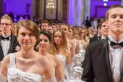 114. Zuckerbäckerball - Hofburg - Do 15.01.2015 - Balleröffnung, Debüdanten, Einzug, tanzen, Tanzpaare84