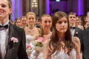 114. Zuckerbäckerball - Hofburg - Do 15.01.2015 - Balleröffnung, Debüdanten, Einzug, tanzen, Tanzpaare85