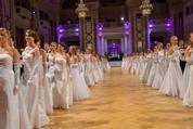 114. Zuckerbäckerball - Hofburg - Do 15.01.2015 - Balleröffnung, Debüdanten, Einzug, tanzen, Tanzpaare92