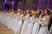 114. Zuckerbäckerball - Hofburg - Do 15.01.2015 - Balleröffnung, Debüdanten, Einzug, tanzen, Tanzpaare94