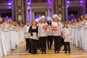 114. Zuckerbäckerball - Hofburg - Do 15.01.2015 - Balleröffnung, Debüdanten, Einzug, tanzen, Tanzpaare95
