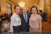 Opernball Pressekonferenz - Staatsoper - Di 20.01.2015 - Dominique MEYER, Olga BEZSMERTNA, Aida GARIFULLINA21