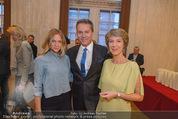 Opernball Pressekonferenz - Staatsoper - Di 20.01.2015 - Alfons HAIDER, Mirjam WEICHSELBRAUN, Barbara RETT25