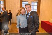 Opernball Pressekonferenz - Staatsoper - Di 20.01.2015 - Alfons HAIDER, Mirjam WEICHSELBRAUN27