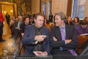 Opernball Pressekonferenz - Staatsoper - Di 20.01.2015 - Erich G�TZINGER, Oliver STAMM33