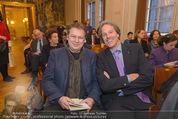Opernball Pressekonferenz - Staatsoper - Di 20.01.2015 - Erich G�TZINGER, Oliver STAMM34
