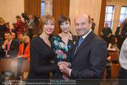 Opernball Pressekonferenz - Staatsoper - Di 20.01.2015 - Dominique MEYER, Maria YAKOVLEVA36