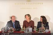 Opernball Pressekonferenz - Staatsoper - Di 20.01.2015 - Dominique MEYER, Desiree TREICHL-ST�RGKH, Eva DINTSIS61
