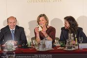 Opernball Pressekonferenz - Staatsoper - Di 20.01.2015 - Dominique MEYER, Desiree TREICHL-ST�RGKH, Eva DINTSIS64