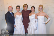 Opernball Pressekonferenz - Staatsoper - Di 20.01.2015 - Desiree TREICHL-ST�RGKH mit Deb�dantinnen, Dominique MEYER75
