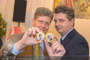 Opernball Pressekonferenz - Staatsoper - Di 20.01.2015 - Christoph WAGNER-TRENKWITZ, Kari HOHENLOHE97