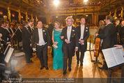 Philharmonikerball - Musikverein - Do 22.01.2015 - Maria GRO�BAUER (JEITLER) und Andreas GROSSBAUER100