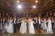 Philharmonikerball - Musikverein - Do 22.01.2015 - Baller�ffnung, Deb�danten, Tanzpaare, tanzen, Formation107