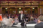 Philharmonikerball - Musikverein - Do 22.01.2015 - Franz WELSER-M�ST beim Dirigieren113