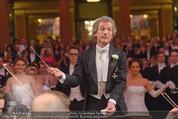 Philharmonikerball - Musikverein - Do 22.01.2015 - Franz WELSER-M�ST beim Dirigieren120