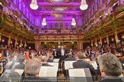 Philharmonikerball - Musikverein - Do 22.01.2015 - Franz WELSER-M�ST beim Dirigieren,saal, Baller�ffnung, Orchest124