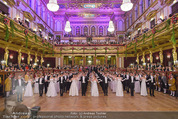 Philharmonikerball - Musikverein - Do 22.01.2015 - Baller�ffnung, Deb�danten, Tanzpaare, tanzen, Formation125