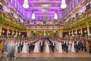 Philharmonikerball - Musikverein - Do 22.01.2015 - Baller�ffnung, Deb�danten, Tanzpaare, tanzen, Formation126