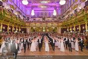 Philharmonikerball - Musikverein - Do 22.01.2015 - Baller�ffnung, Deb�danten, Tanzpaare, tanzen, Formation127