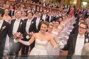 Philharmonikerball - Musikverein - Do 22.01.2015 - Baller�ffnung, Deb�danten, Tanzpaare, tanzen, Formation133
