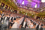 Philharmonikerball - Musikverein - Do 22.01.2015 - Baller�ffnung, Deb�danten, Tanzpaare, tanzen, Formation134