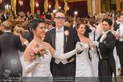 Philharmonikerball - Musikverein - Do 22.01.2015 - Sebastian STEINMETZ-BUNDY bei der Er�ffnung136