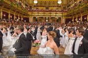 Philharmonikerball - Musikverein - Do 22.01.2015 - Baller�ffnung, Deb�danten, Tanzpaare, tanzen, Formation137