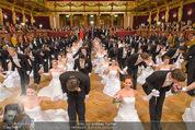 Philharmonikerball - Musikverein - Do 22.01.2015 - Baller�ffnung, Deb�danten, Tanzpaare, tanzen, Formation138