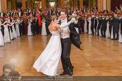 Philharmonikerball - Musikverein - Do 22.01.2015 - Baller�ffnung, Deb�danten, Tanzpaare, tanzen, Formation142