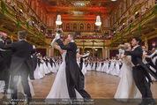 Philharmonikerball - Musikverein - Do 22.01.2015 - Baller�ffnung, Deb�danten, Tanzpaare, tanzen, Formation143
