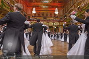 Philharmonikerball - Musikverein - Do 22.01.2015 - Baller�ffnung, Deb�danten, Tanzpaare, tanzen, Formation145