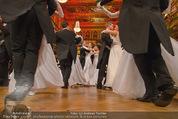 Philharmonikerball - Musikverein - Do 22.01.2015 - Baller�ffnung, Deb�danten, Tanzpaare, tanzen, Formation149