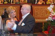 Philharmonikerball - Musikverein - Do 22.01.2015 - Rotraud KONRAD, Michael H�UPL151