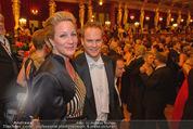 Philharmonikerball - Musikverein - Do 22.01.2015 - Hannes und Vanessa STEINMETZ-BUNDY158