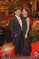 Philharmonikerball - Musikverein - Do 22.01.2015 - Tobias MORETTI mit Ehefrau Julia164