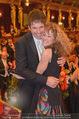 Philharmonikerball - Musikverein - Do 22.01.2015 - Sandra PIRES mit Freund Thilo FECHNER173