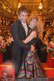Philharmonikerball - Musikverein - Do 22.01.2015 - Sandra PIRES mit Freund Thilo FECHNER177