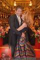 Philharmonikerball - Musikverein - Do 22.01.2015 - Sandra PIRES mit Freund Thilo FECHNER178