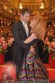 Philharmonikerball - Musikverein - Do 22.01.2015 - Sandra PIRES mit Freund Thilo FECHNER179