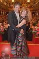 Philharmonikerball - Musikverein - Do 22.01.2015 - Sandra PIRES mit Freund Thilo FECHNER180
