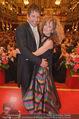 Philharmonikerball - Musikverein - Do 22.01.2015 - Sandra PIRES mit Freund Thilo FECHNER181