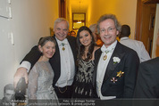 Philharmonikerball - Musikverein - Do 22.01.2015 - Alexander PEREIRA mit Daniela, Franz und Angelika WELSER-M�ST207